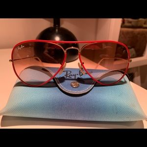 Ray bans new with case